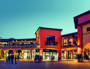 Shopping at Valdichiana Outlet Village